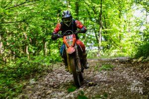 enduro ride in the forest ENDURO TOURS BULGARIA