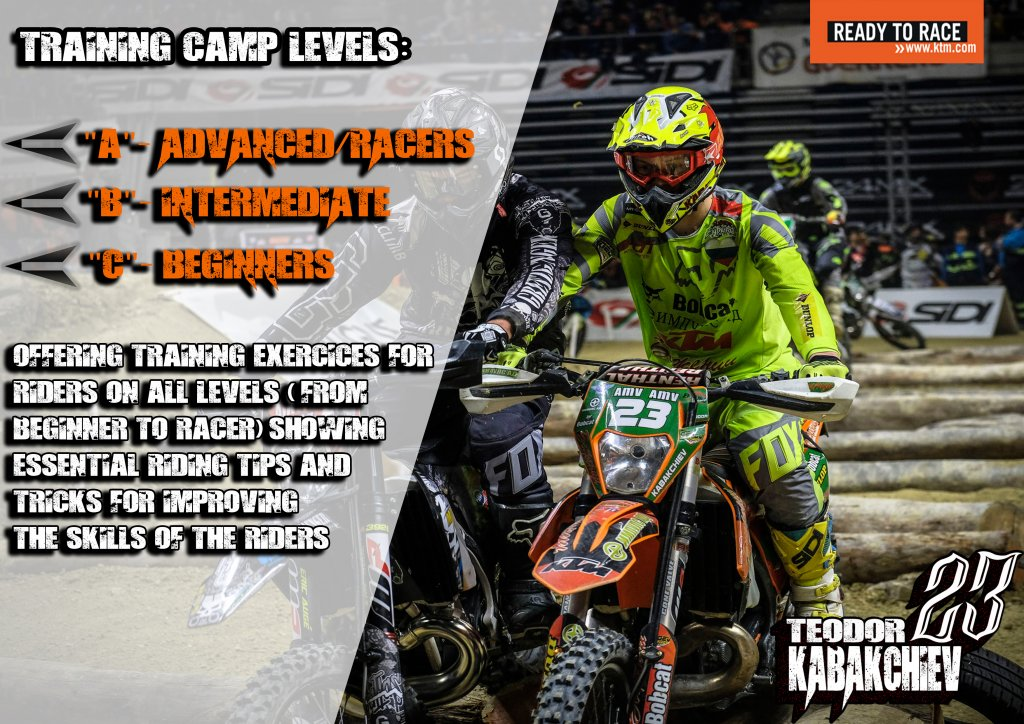 training camp levels Enduro-ride Bulgaria Enduro Tours Bulgaria Teodor Kabakchiev KTM