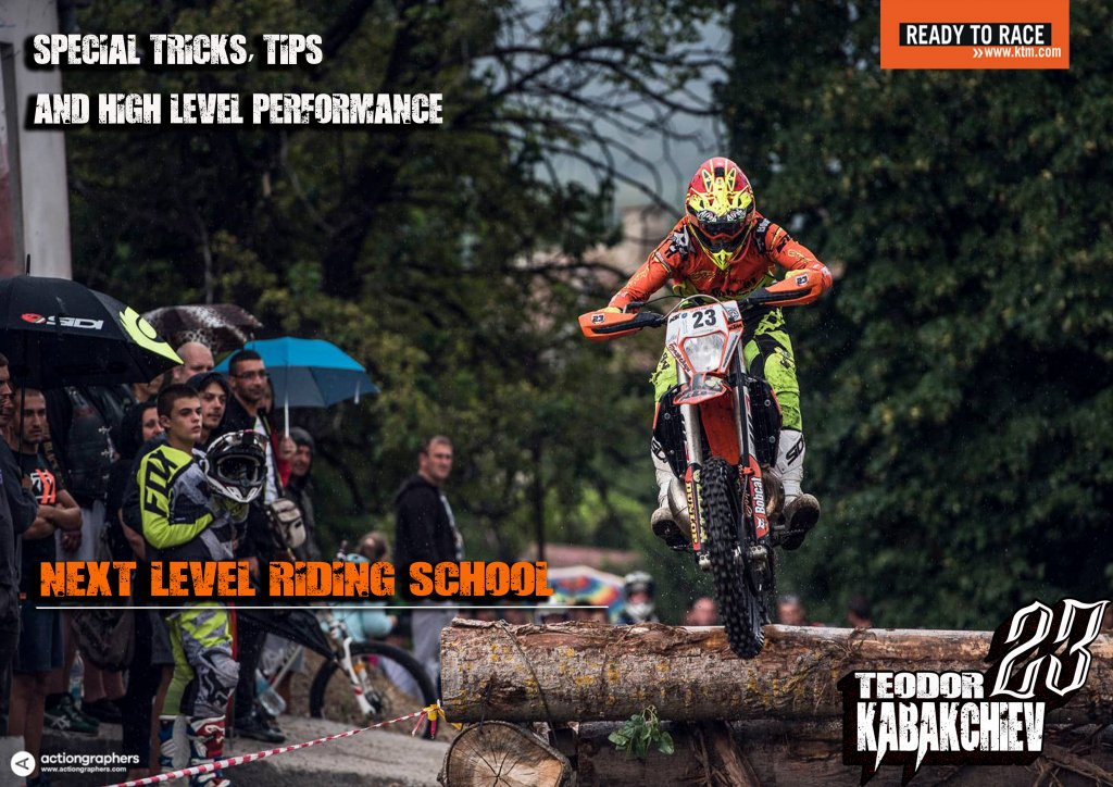 special tricks, tips and high level performance Enduro-ride Bulgaria Enduro Tours Bulgaria Teodor Kabakchiev KTM