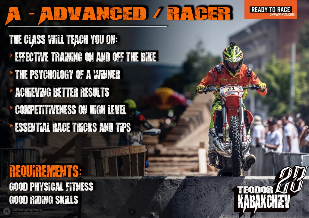 advanced / racer level Enduro-ride Bulgaria Enduro Tours Bulgaria Teodor Kabakchiev KTM