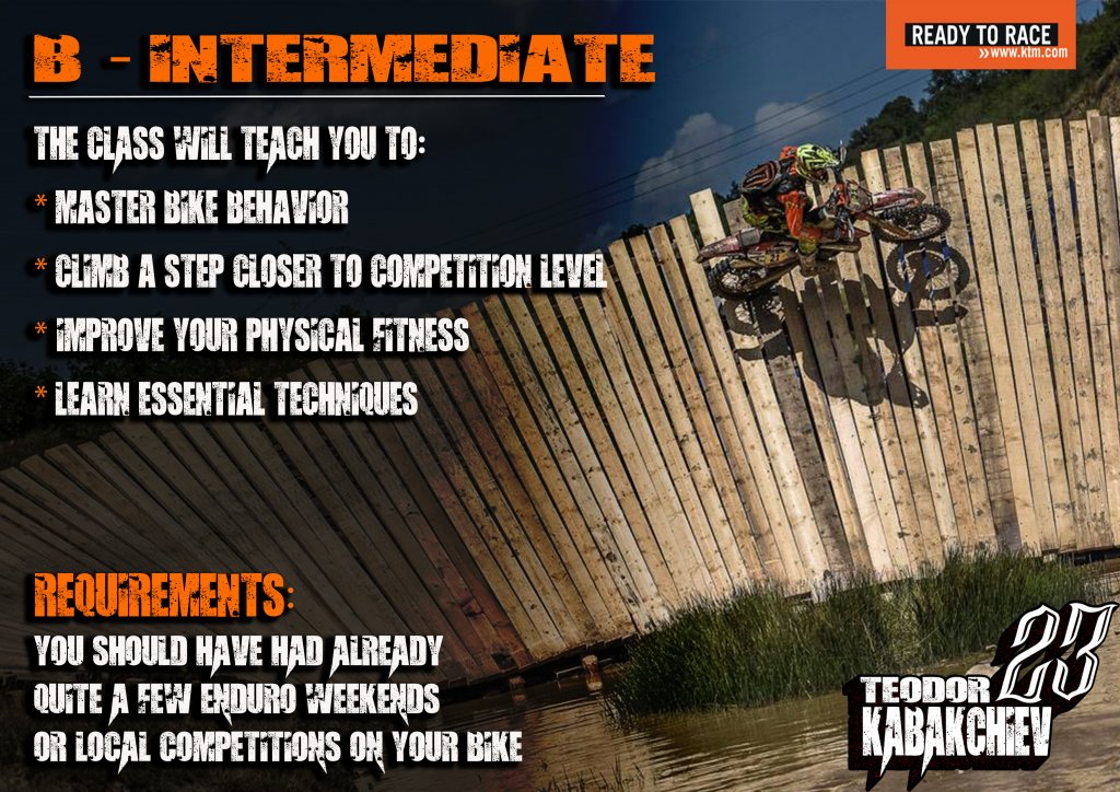 intermediate level Enduro-ride Bulgaria Enduro Tours Bulgaria Teodor Kabakchiev KTM