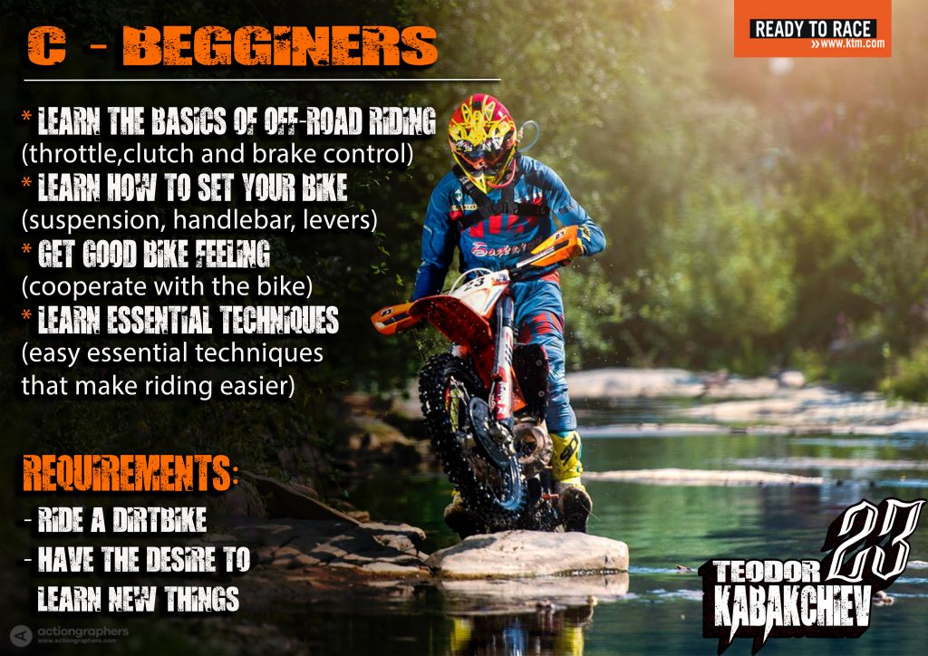 begginers level Enduro-ride Bulgaria Enduro Tours Bulgaria Teodor Kabakchiev KTM