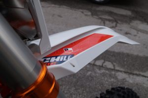 ktm six days chile front fender