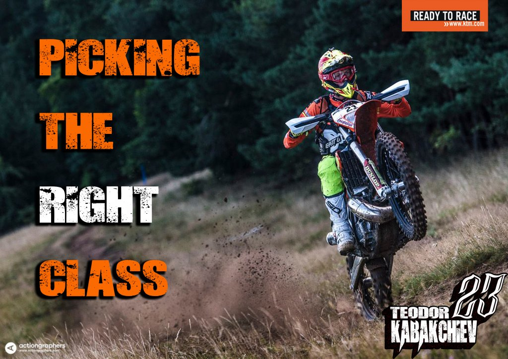 picking the right class Enduro-ride Bulgaria Enduro Tours Bulgaria Teodor Kabakchiev KTM