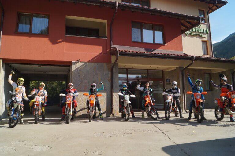 enduro riding in Bulgaria