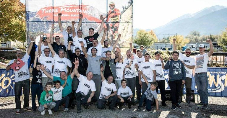 hard enduro bansko photo of the competitors